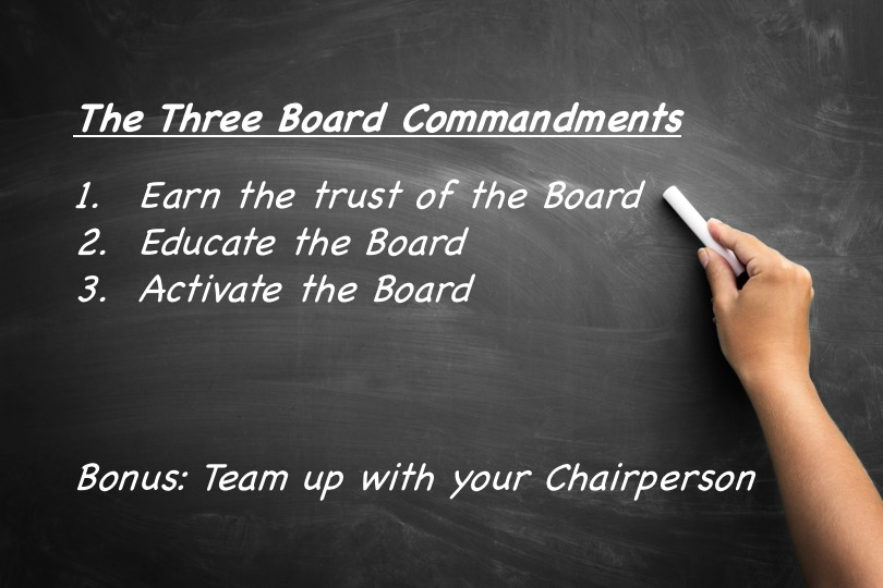The Three CEO Commandments